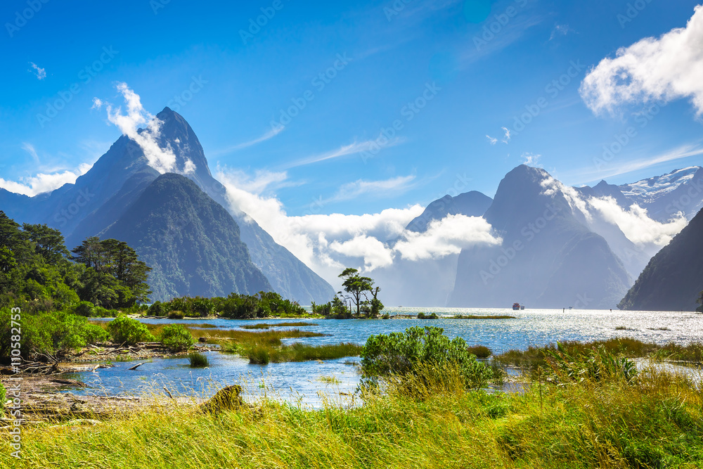 Fototapety, obrazy: Milford Sound #6, New Zealand