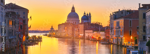 La pose en embrasure Venise Venice dawn