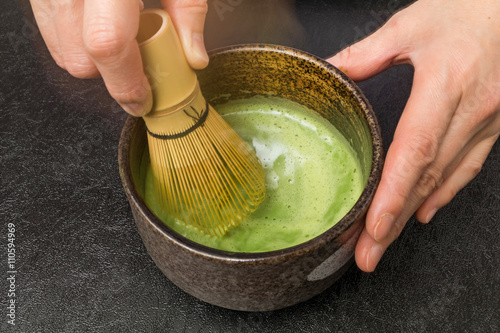 Fotografie, Obraz  茶道の作法 traditional beauty of tea ceremony Japan