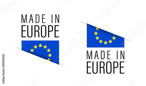Obraz Made in Europe - fototapety do salonu