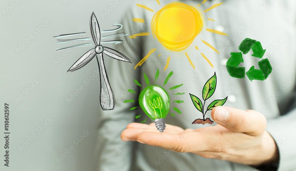 Fototapeta green power