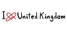 United Kingdom Love Message