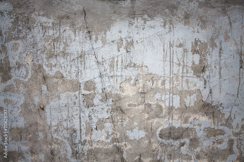 Fotoposter Oude vuile getextureerde muur Rough cement wall , Patterned cement wall , Botched plaster wall , Cement wall putty,cement wall