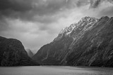 Fiordland National Park Scenic in - South Island of New Zealand - 110629911