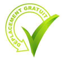 Déplacement Gratuit Sur Symbole Validé Vert