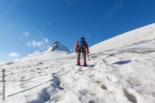 Poster de jardin Alpinisme Climb