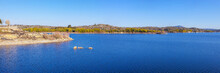 Panorama Of The Artificial Lak...