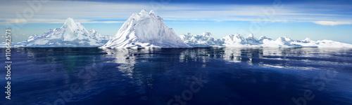 Fotografie, Obraz  Gletscher
