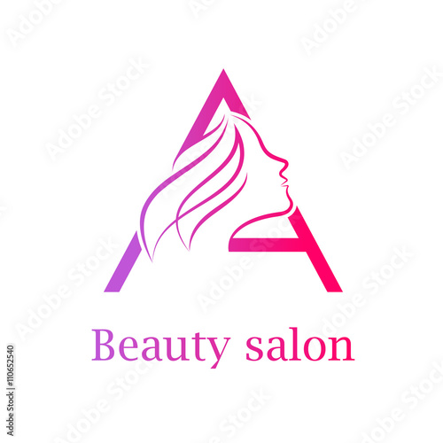 Abstract Letter A Logo Beauty Salon Logo Design Template Buy This Stock Vector And Explore Similar Vectors At Adobe Stock Adobe Stock
