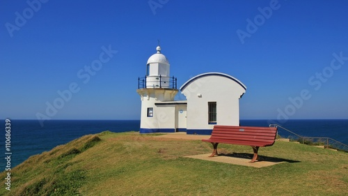 Old lighthouse in Port Macquarie, Australia