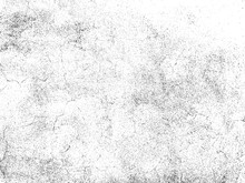 Scratched Paper Texture. Distressed Cardboard Texture. Black And White Colored Grunge Background. Wrinkled Paper Texture Overlay. Abstract Background. Vector Illustration