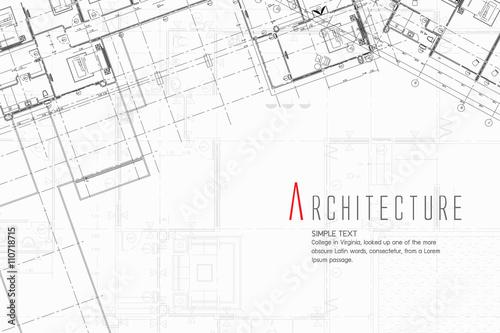 Fotografie, Tablou Architecture Background