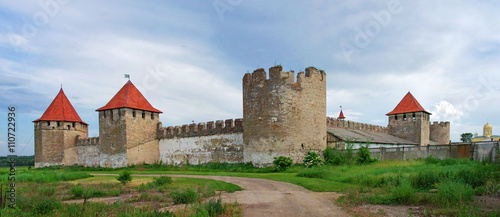 Fotografía Old fortress on the river Dniester in town Bender, Transnistria.