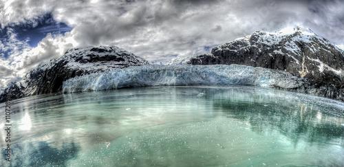Photo  Glaciar Marguerite en el Parque Nacional Glacier Bay de Alaska