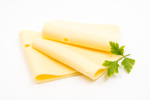 Cheese Gouda White Background Käse