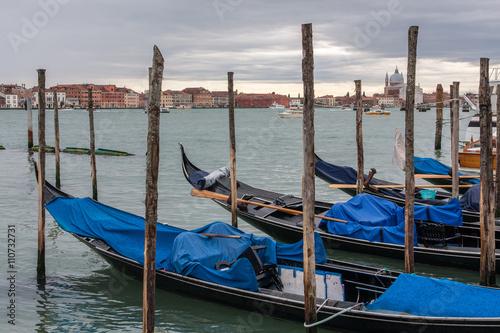 Keuken foto achterwand Gondolas Gondola in Venice