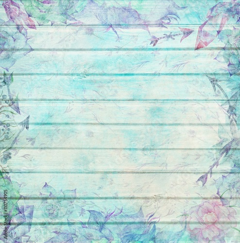 shabby-chic-wood-background-with-watercolor