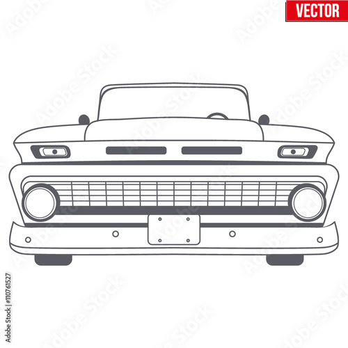 Muscle Car Vector Symbol Buy This Stock Vector And Explore Similar