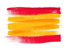 Spain Colorful Brush Strokes P...