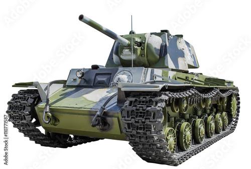Photo  Soviet tank KV - 1