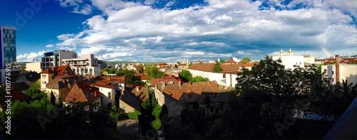 Photo Stands Kiev City Panorama