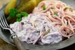 Salat Wurst Mayonnaise