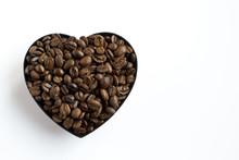 Coffee Beans Shaped Heart