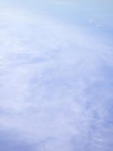 Wispy  Clouds On Blue Sky
