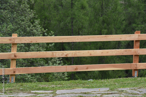 Steccato Per Giardino : Steccato di legno recinto giardino bordo del letto cm per