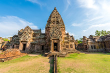 Phanom Rung Historical Park Is Castle Rock Old Architecture Abou