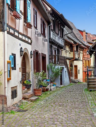 Keuken foto achterwand Smal steegje Central Europe France