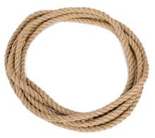 Ship Rope Isolated On White Ba...