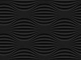 Abstrakta 3d czerni geometryczna tło tapeta - 110864759