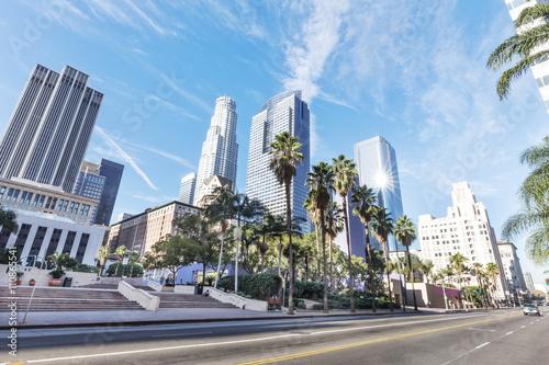 road-before-modern-office-buildings-in-los-angeles