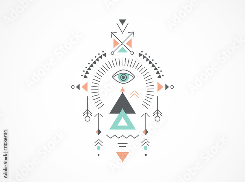 Esoteric Alchemy Sacred Geometry Tribal And Aztec Sacred