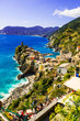 canvas print picture - Vernazza a Cinque Terre