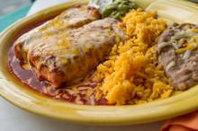 Mexican Chimichanga Burrito