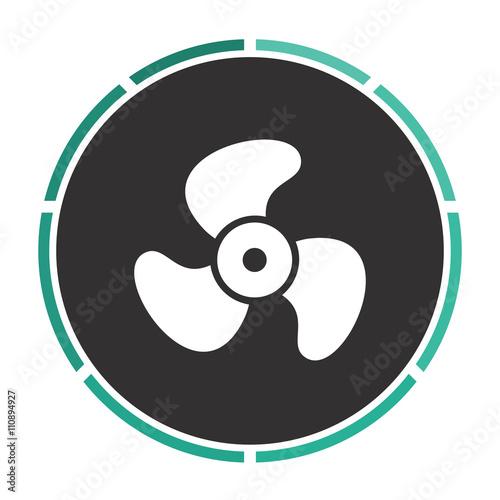 Juliste  Propeller computer symbol