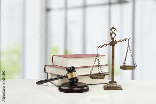 法律イメージ Canvas Print