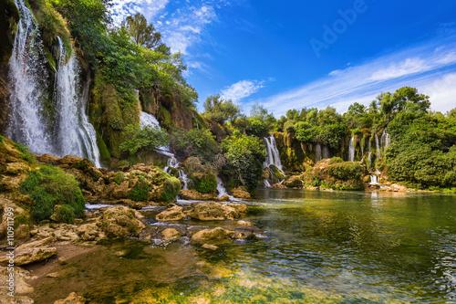 Fototapeta premium Wodospad Kravice w Bośni i Hercegowinie