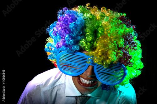 Fotografía  Clown smiling