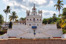 Our Lady Of Immaculate Conception Church In Panjim - One Of Oldest Churches In Goa. Panjim (Panaji)