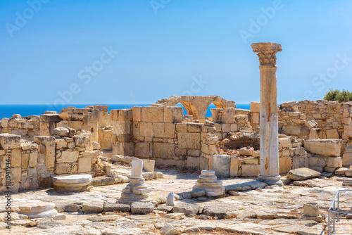 Foto op Canvas Cyprus Limassol District. Cyprus. Ruins of Greek ancient Kourion