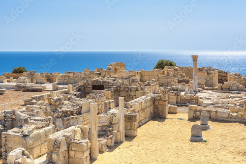 Fotobehang Cyprus Ruins of ancient Kourion. Limassol District. Cyprus