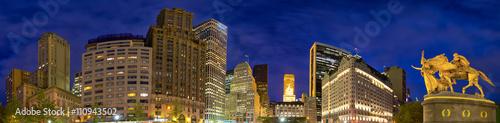 5th-avenue-panorama-o-zmierzchu-manhattan-nowy-jork