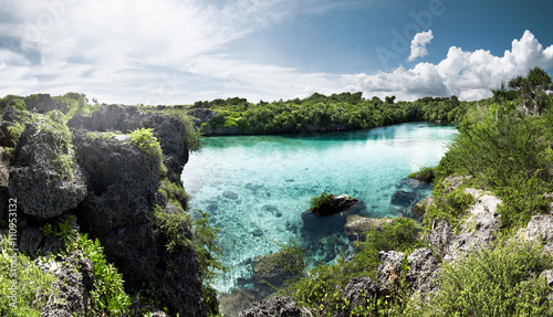Tuinposter Indonesië Weekuri Lagoon, Sumba, Indonesia