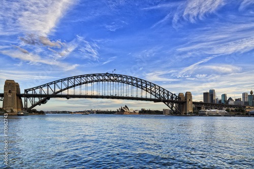Staande foto Sydney Sy Bridge Lavender bay day