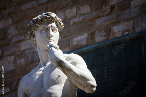 Photo  Copy of Michelangelo's David in Florence