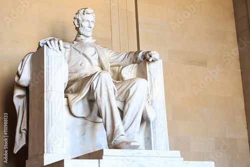 Photographie  Abraham Lincoln monument in Washington