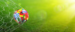 Leinwanddruck Bild - Goal - European Football Championship